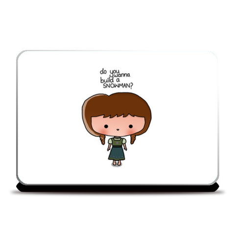 Laptop Skins, Cute Girl doodle Laptop Skins | Artist : Naeema Rezmin, - PosterGully