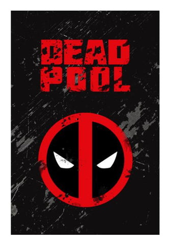 PosterGully Specials, Deadpool Wall Art | Artist : Gurmeet, - PosterGully