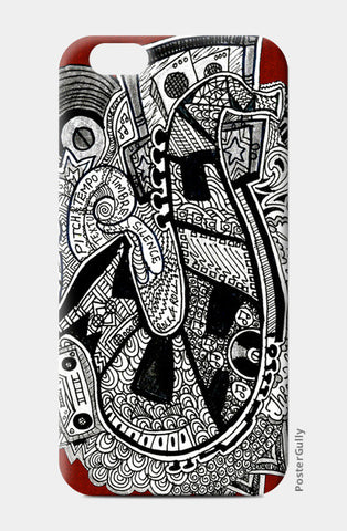 Mysterious Saxophone iPhone 6/6S Cases | Artist : Aishwarya Menon