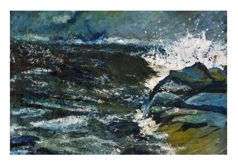 Wall Art, seascape 87 Wall Art  | Artist : pol ledent, - PosterGully