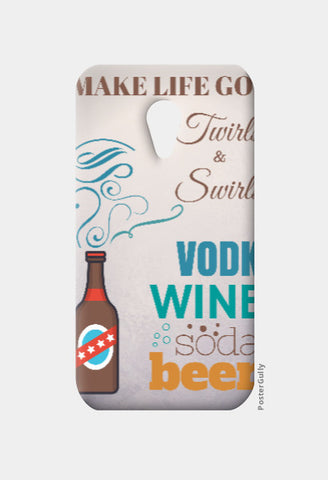 Moto G2 Cases, Cocktail of Life Moto G2 Case | Artist: Nagesh Kanduru, - PosterGully