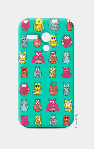 Moto G Cases, Curious Owls Moto G Cases | Artist : Suchita Pande, - PosterGully