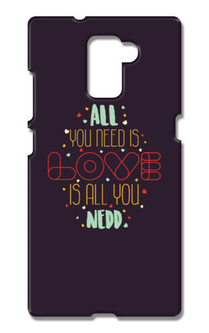 All you need is love is all you need Huawei Honor 7 Cases | Artist : Designerchennai