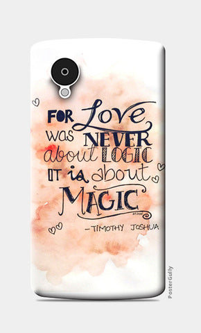 Nexus 5 Cases, love Nexus 5 Cases | Artist : Vanya Verma, - PosterGully