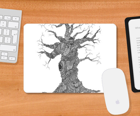 The Tree Mousepad | Artist : DoodlesToodles