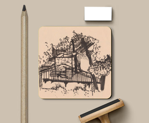 Behind the Trees Coasters | Artist : Shalini Upadhyay