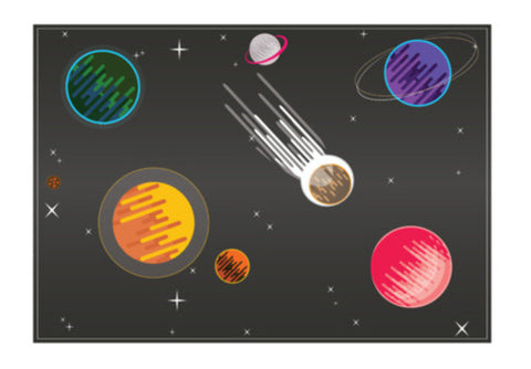 Galaxy  Art PosterGully Specials