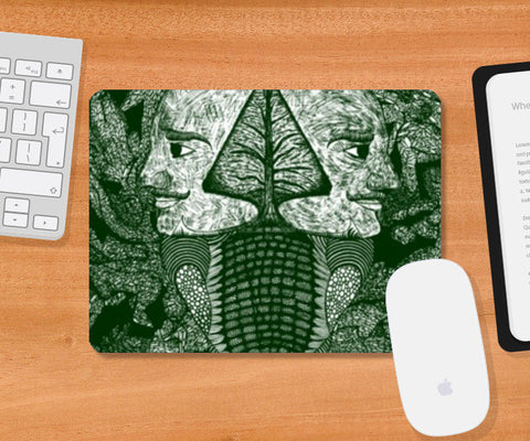 Mousepad, Dreams of the Post Apocalyptic Vol. 1.5 Mousepad | Artist : Luke's Art Voyage, - PosterGully
