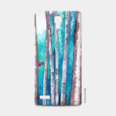 Redmi Note Cases, Blue Bamboos Redmi Note Case | Artist: Alpana Lele, - PosterGully
