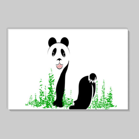 THE PANDA is a symbol of gentleness and strength. it is an auspicious symbol of peace, harmony Stick Ons | Artist : amit kumar
