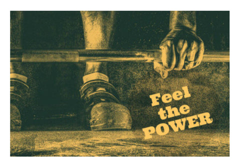 Wall Art, feel the power Wall Art  | Artist : Jayant Rana, - PosterGully