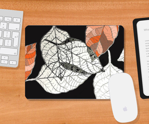Mousepad, leaves Mousepad | Artist : Vanya Verma, - PosterGully