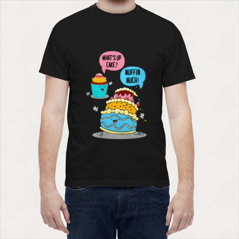 Men T Shirts, Muffin Much Men T Shirts | Artist : Random Chinese Friend, - PosterGully - 1