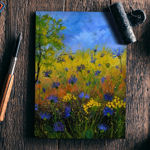 cornflowers 776110 Notebook | Artist : pol ledent