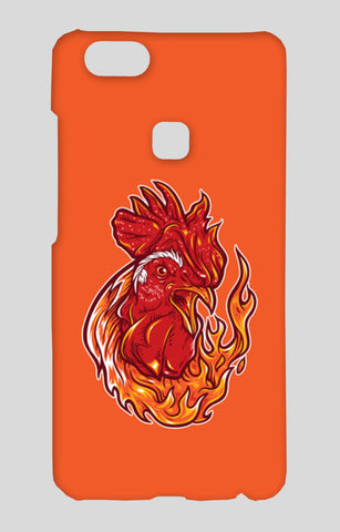 Rooster On Fire Vivo V7 Plus Cases | Artist : Inderpreet Singh