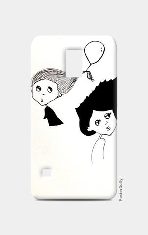 Illustration/cartoon Samsung S5 Cases | Artist : Vaishnavi Gajapure