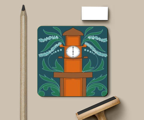 Coasters, Clock Tower Coasters | Pratyasha Nithin, - PosterGully
