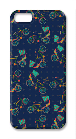 Tring Tring Rickshaws iPhone SE Cases | Artist : Parvathy Kuruppath
