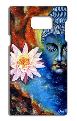 Lord Buddha 1 Samsung Galaxy Note 5 Tough Cases | Artist : Saroj Meher