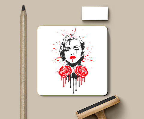 Rebel Heart Coasters | Artist : Durro Art