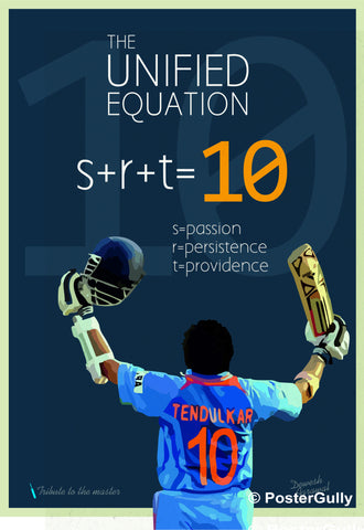 Wall Art, SRT 10 Unified Equation 2 | Artist: Dewesh Agrawal, - PosterGully - 1
