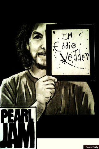Brand New Designs, Eddie Vedder Artwork | Artist: Nishant D'souza, - PosterGully - 1