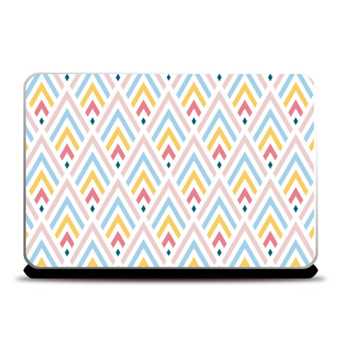 Triangle Pattern Laptop Skins | Artist : Creative DJ