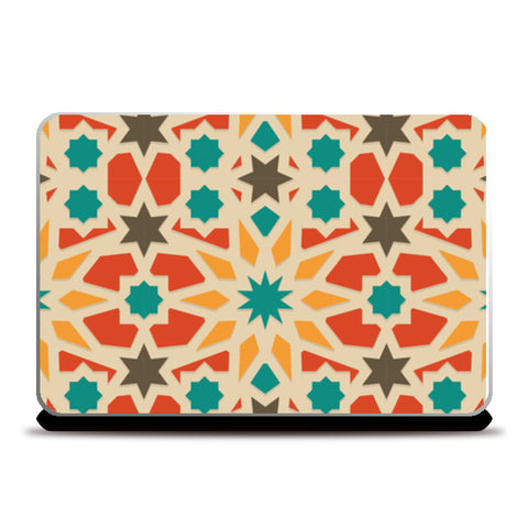 Zig Zag Shapes Laptop Skins | Artist : Creative DJ