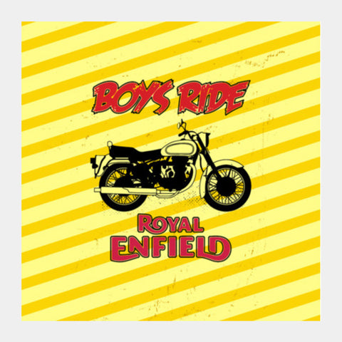 Boys Ride Square Art Prints PosterGully Specials
