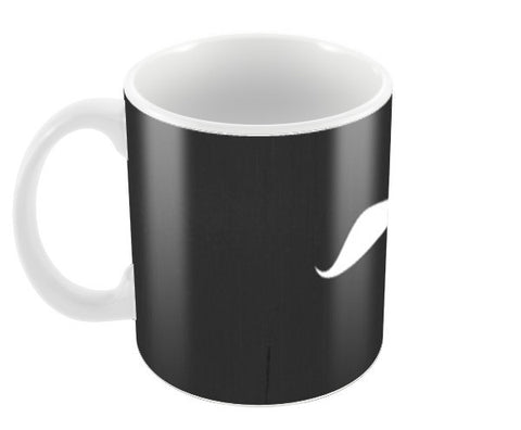 mustache mug Coffee Mugs | Artist : designScratch