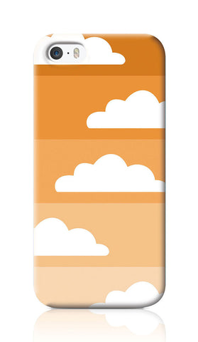 iPhone Cases, Above The Sky Orange iPhone 5/5S Case | Artist: Inderpreet, - PosterGully