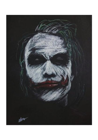 PosterGully Specials, The Joker Heath Ledger Wall Art | Artist : Vivek Aind, - PosterGully