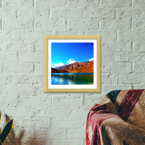 Life Is Beautiful Premium Square Italian Wooden Frames | Artist : Pallab Bhowmik