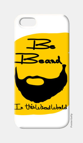 be beard iPhone 5 Cases | Artist : Keshava Shukla