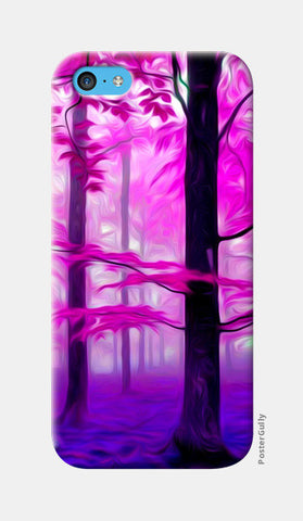 Pink Nature iPhone 5c Cases | Artist : Rameshwar Chawla