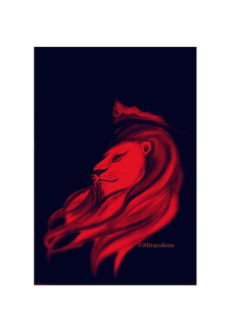 Leo - The King Art PosterGully Specials