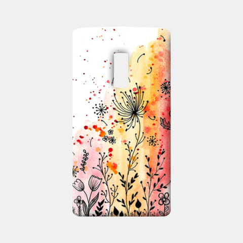 Fall Florals One Plus Two Cases | Artist : Swathi Kirthyvasan