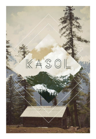 Wall Art, Kasol Wall Art | Artist: Abhishek Faujdar, - PosterGully