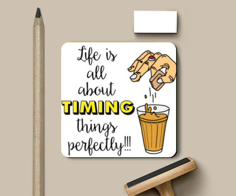 Timing Coasters | Artist : Dishant Bhatia