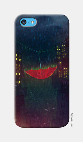 Night Rain iPhone 5c Cases | Artist : Aniket Mitra