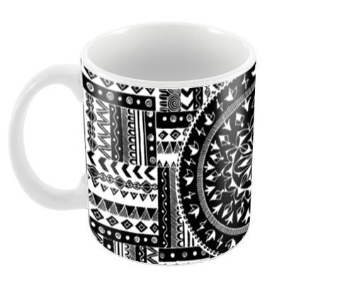 Artistry of Life | Zentangle Art Coffee Mugs | Artist : Sriparna Chandra