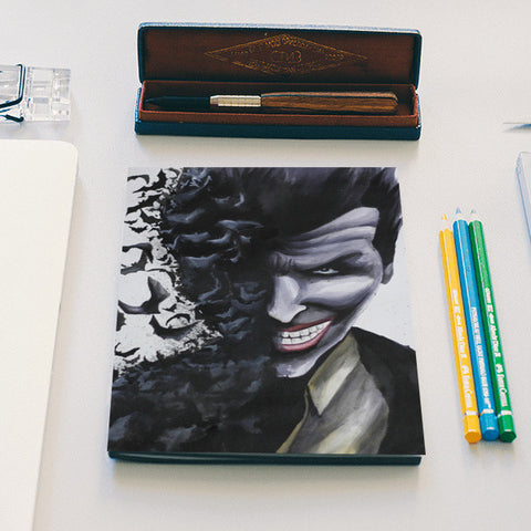Batman joker notebook Notebook | Artist : Anitha Vallikunnel