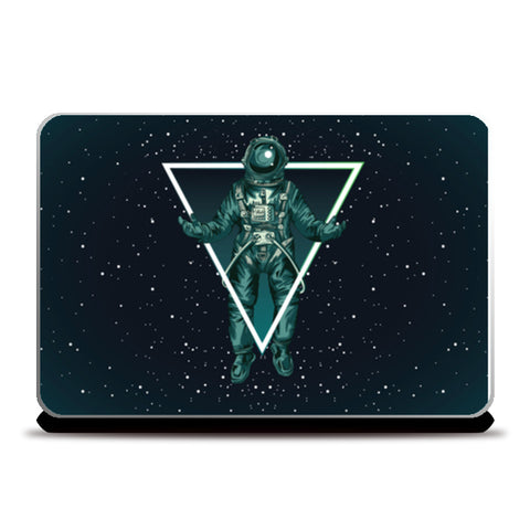 space triangle Laptop Skins | Artist : Creative DJ