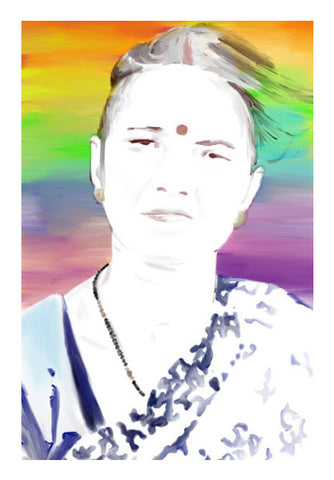 Amma Wall Art | Artist : Chandan Verma