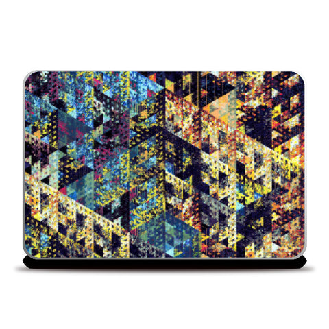Laptop Skins, Traingles Laptop Skin | Artist: Manju Nk, - PosterGully