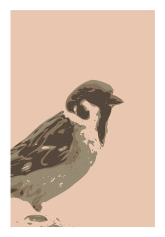 Wall Art, Abstract Sparrow Default Wall Art | Artist : Keshava Shukla, - PosterGully