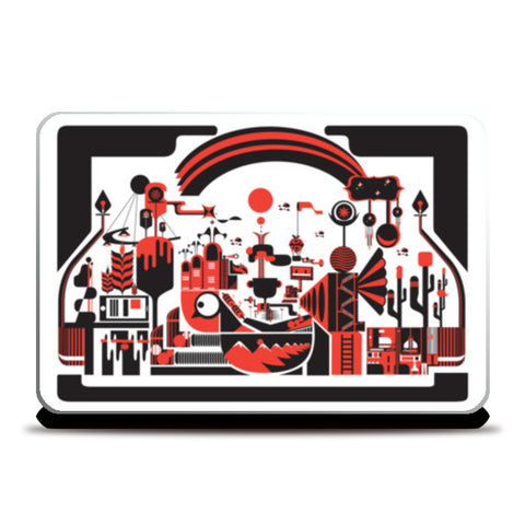 Laptop Skins, Animal Planet Laptop Skins | Artist : Shivas, - PosterGully