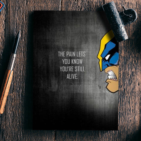 WOLVERINE Notebook | Artist : DISHA BHANOT