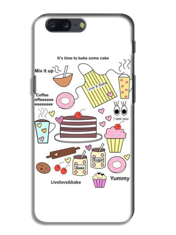 baking=happiness OnePlus 5 Cases | Artist : mytablecreations