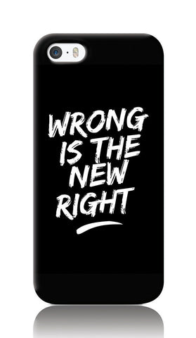 iPhone Cases, Wrong iPhone 5/5S Case | Artist: Inderpreet, - PosterGully